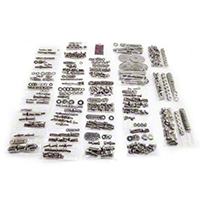 Totally Stainless Fastener Kit, Stainless Steel (87-95 Wrangler YJ w/ Soft Top) - Totally Stainless 62402