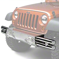 Rugged Ridge Stainless Steel Tube Ends for XHD Front Bumper (07-13 Wrangler JK) - Rugged Ridge 11540.73
