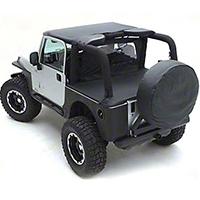 Smittybilt Standard Top, Black Denim (97-06 Wrangler TJ) - Smittybilt 93315