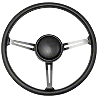 Omix-ADA Steering Wheel Kit w/ Horn Button Cap (87-95 Wrangler YJ) - Omix-ADA 18031.07