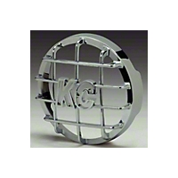 KC Hilites Stone Guard Chrome High Impact ABS Plastic 6 in. Round - Each (Universal Application) - KC Hilites 7211