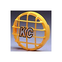 KC Hilites Stone Guard Yellow High Impact ABS Plastic 6 in. Round - Each (Universal Application) - KC Hilites 7213