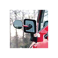 CIPA Suction Cup Towing Mirror Kit (87-09 Wrangler YJ, TJ & JK) - CIPA 11954K