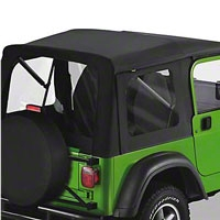 Bestop Supertop, Black Denim (97-06 Wrangler TJ w/Full Doors) - Bestop 51709-15