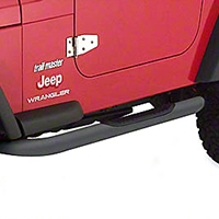 Smittybilt Sure Step 3 In. Side Bars (07-14 Wrangler JK 2 Door) - Smittybilt JN48-S2B||JN48-S2B
