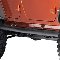 Smittybilt Sure Step 3in. Side Bars (07-13 Wrangler JK 4 Door) - Smittybilt JN49-S4T