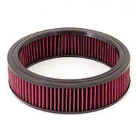 Rugged Ridge Synthetic Round Air Filter (87-90 Wrangler YJ w/258 Engine) - Rugged Ridge 17751.01