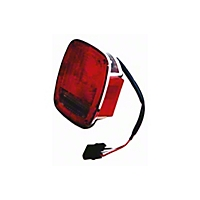 Omix-ADA Tail Lamp Assembly, Right, Chrome (91-98 Wrangler YJ & TJ) - Omix-ADA 12403.16