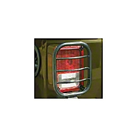 Body Armor Tail Light Guards w/Flat design (07-13 Wrangler JK) - Body Armor JK-7133