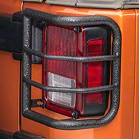 Body Armor Tail Light Guards w/Wrap design (07-13 Wrangler JK) - Body Armor JK-7135