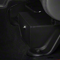 Bestop Locking Under Seat Storage Box, Textured Black (07-10 Wrangler JK) - Bestop 42640-01