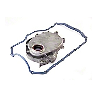 Omix-ADA Timing Cover For 2.5L Eng  w/ Molded Rubber Oil Pan Gasket (93-05 Wrangler YJ & TJ) - Omix-ADA 17457.02