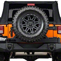Rugged Ridge XHD Rear Bumper Tire Carrier (07-14 Wrangler JK) - Rugged Ridge 11546.22