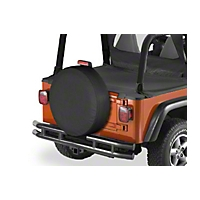 Bestop Tire Cover for All Vehicles Medium Tires, 29 in x 9 in (Universal Application) - Bestop 61029-01