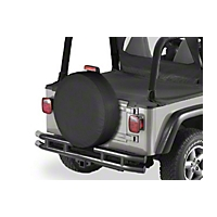 Bestop Tire Cover for All Vehicles XXL Tires, 33 in x 13 in (Universal Application) - Bestop 61033-01