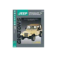 Chilton Total Care Manual (87-94 Wrangler YJ) - Chilton 40650