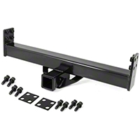 Omix-ADA Rugged Ridge Tow Hitch Receiver For XHD Rear Bumper (87-06 Wrangler YJ & TJ) - Omix-ADA 11580.03