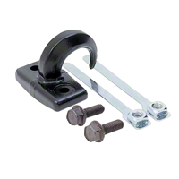 Rugged Ridge Tow Hook Rear, Black (97-06 Wrangler TJ) - Rugged Ridge 7783
