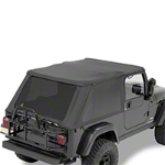 Bestop Trektop NX, Black Diamond (04-06 Wrangler TJ Unlimited) - Bestop 56821-35