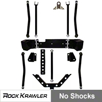 Rock Krawler Triple Threat Long Arm Upgrade (07 Wrangler JK 2 Door) - Rock Krawler RKJKTTLA-UPG-2