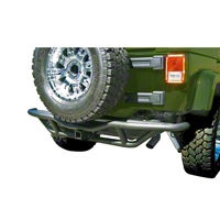 Body Armor Tubular Rear Base Bumper (97-06 Wrangler TJ) - Body Armor TJ-2951