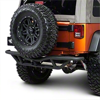 Body Armor Tubular Rear Base Bumper (07-15 Wrangler JK) - Body Armor JK-2951
