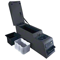 Rugged Ridge Ultimate Locking Console, Gray (87-95 Wrangler YJ) - Rugged Ridge 13102.09