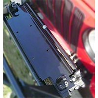 Rugged Ridge Universal Winch Mounting Plate (87-06 Wrangler YJ & TJ) - Rugged Ridge 11238.1