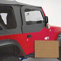 Rugged Ridge Upper Soft Door Kit, Front Pair, Spice (97-06 Wrangler TJ) - Rugged Ridge 13714.37