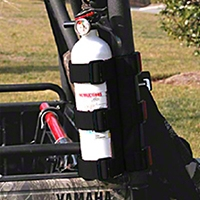 Rugged Ridge Black UTV Fire Extinguisher Holder, 1-1.5 in. (Universal Application) - Rugged Ridge 63305.21