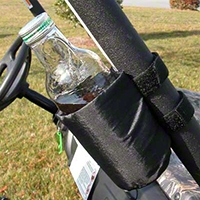 Rugged Ridge 2 Black UTV Sport Bar Cupholders (Universal Application) - Rugged Ridge 62101.51