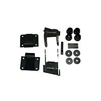 Advanced Adapters Vortec Generation III Engine Mounts (97-05 Wrangler TJ w/ Air Conditioning) - Advanced Adapters 713093