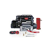 Warn 9500lb Powerplant Dual Force Winch & Air Compressor (Universal Application) - Warn 71800