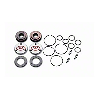 Warn Full Floating Axle Foundation Optional Drive Flange Set (98-02 Wrangler TJ) - Warn 39340