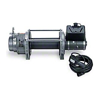 Warn Industrial Series 15 Dc Electric Winch, 24V (Universal Application) - Warn 65932