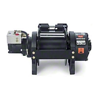 Warn Industrial Series 20Xl Hydraulic Winch, Clockwise And Anti-Clockwise (Universal Application) - Warn 74750