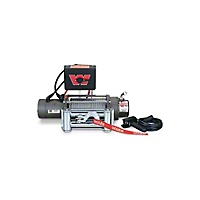 Warn M8000 Self-Recovery Winch, 12V Dc 100' Wire Rope And Roller Fairlead (Universal Application) - Warn 26502