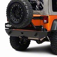 WARN Rear Rock Crawler Bumper (07-15 Wrangler JK) - WARN 74300