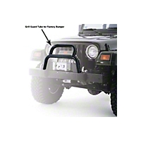 Warn Tubular Grill Guard (98-06 Wrangler TJ) - Warn 37171
