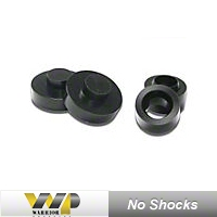 Warrior Products 2in. Coil Spring Spacer Lift Kit, No Shocks (97-06 Wrangler TJ) - Warrior Products 30721