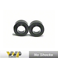 Warrior Products 2 in. Coil Spring Spacer Rear Leveling Kit w/o Shocks (97-06 Wrangler TJ) - Warrior Products 30715