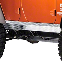 Warrior Products 2in Tall Side Plates (07-13 Wrangler JK 4 Door) - Warrior Products 922