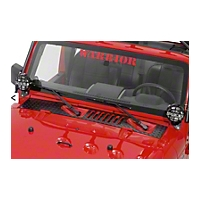 Warrior Products Cowling Cover (07-13 Wrangler JK & Unlimited) - Warrior Products 920E