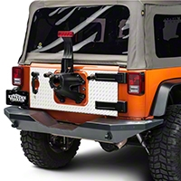 Warrior Products Tailgate Covers (07-13 Wrangler JK 4 Door) - Warrior Products 920D-1