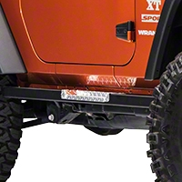 Warrior Products Rock Barz w/ or w/o Step (07-13 Wrangler JK 2 Door) - Warrior Products 7440