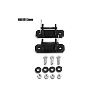 Warrior Products Tow Bar Mounting Brackets - Pair (87-13 Wrangler YJ, TJ & JK) - Warrior Products 861