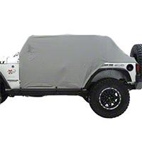 Smittybilt Water Resistant Cab Cover w/ Door Flaps (07-15 Wrangler JK 4 Door) - Smittybilt 1069