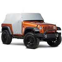 Rugged Ridge Weather Lite Cab Cover (07-13 Wrangler JK 2 Door) - Rugged Ridge 13317.1