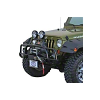 Body Armor Winch Mount Plate (07-13 Wrangler JK) - Body Armor JK-3101