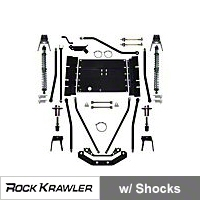 Rock Krawler X Factor Plus Comp 55 Coil Over Stretch System (97-02 Wrangler TJ) - Rock Krawler RKTJCOMP55S-01